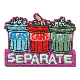 S-3378 Glass Cans Plastic Patch
