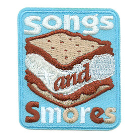 S-3418 Songs Smores Patch