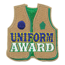 S-3424 Uniform Award Patch
