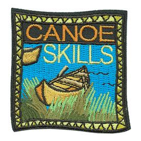 S-3431 Canoe Skills Patch