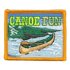 S-3438 Canoe Fun Patch
