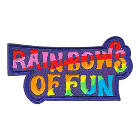 S-3440 Rainbows Of Fun Patch