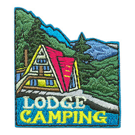 S-3451 Lodge Camping Patch