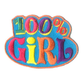S-2510 100% Girl Patch