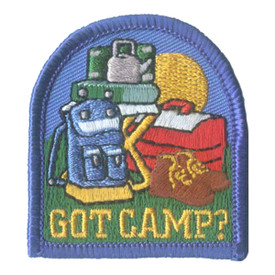 S-2792 Got Camp? Patch