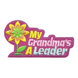 S-3453 My Grandma's A Leader Patch