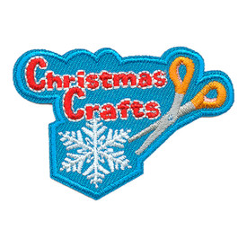 S-3456 Christmas Crafts Patch