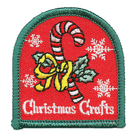 S-3461 Christmas Crafts Patch