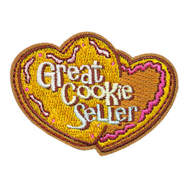 S-3468 Great Cookie Seller Patch