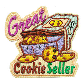 S-3472 Great Cookie Seller Patch