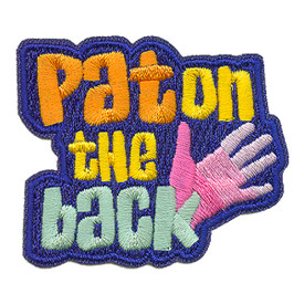 S-3477 Pat On The Back Patch