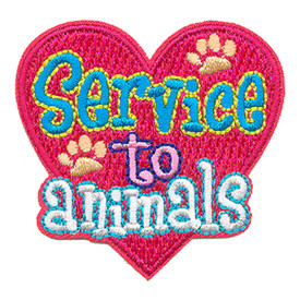 S-3479 Service To Animals Patch