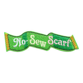 S-3482 No Sew Scarf Patch