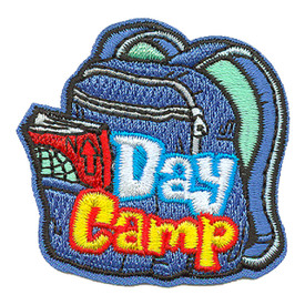 S-3498 Day Camp Patch