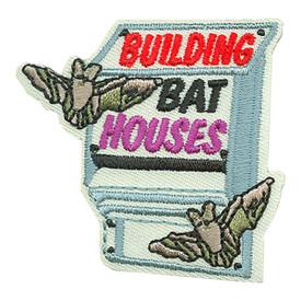 S-3518 Building Bat Houses Patch