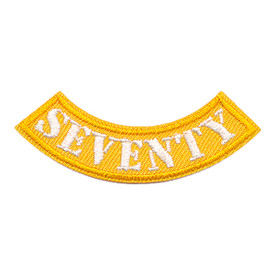 S-3522 Seventy Miles Rocker Patch