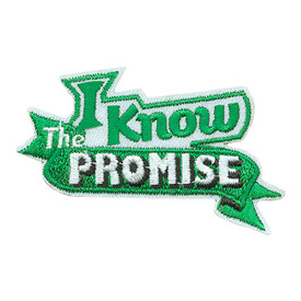 S-3527 I Know The Promise Patch