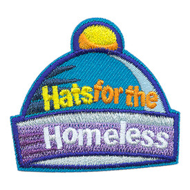 S-3529 Hats For The Homeless Patch