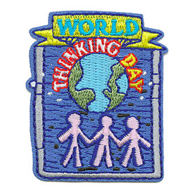 S-3536 World Thinking Day Patch