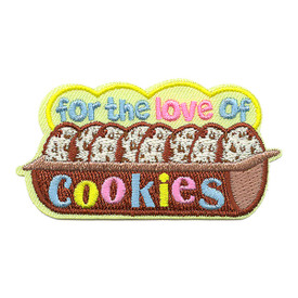 S-3541 For The Love Of Cookies Patch
