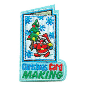 S-3542 Christmas Card Making Patch
