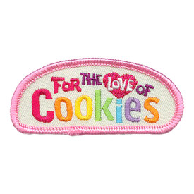 S-3547 For The Love Of Cookies Patch