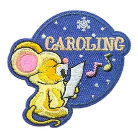 S-3549 Caroling (Mouse) Patch