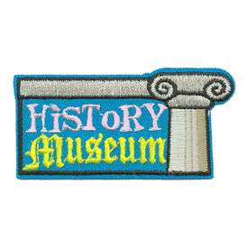 S-3554 History Museum Patch