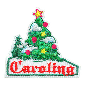S-3555 Caroling (Tree) Patch