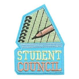 S-3557 Student Council Patch