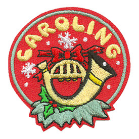 S-3558 Caroling (French Horn) Patch