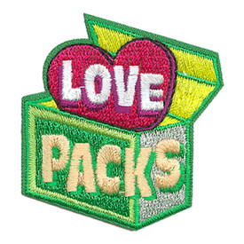 S-3562 Love Packs Patch