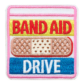 S-3563 Band Aid Drive Patch