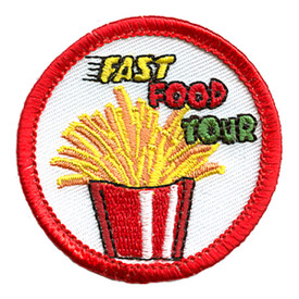 S-0254 Fast Food Tour (Fries) Patch