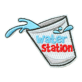 S-3580 Water Station Patch