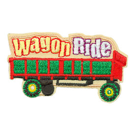 S-3582 Wagon Ride Patch