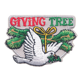 S-3587 Giving Tree (Dove) Patch