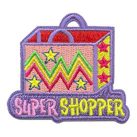 S-3596 Super Shopper Patch
