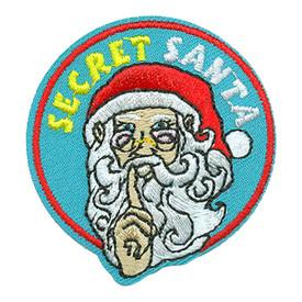 S-3597 Secret Santa Patch