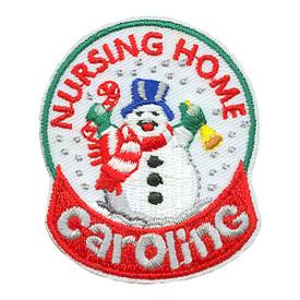 S-3604 Nursing Home Caroling Patch