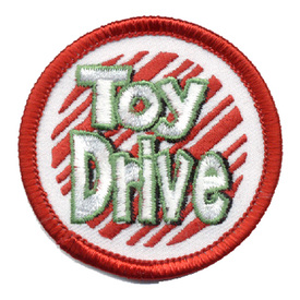 S-0261 Toy Drive (Circle) Patch