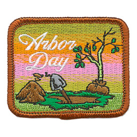 S-3607 Arbor Day Patch