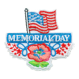 S-3609 Memorial Day Patch