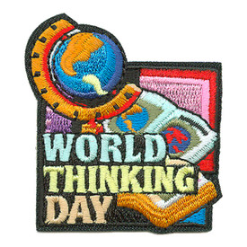 S-3610 World Thinking Day Patch