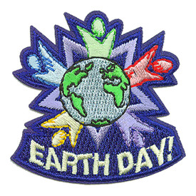 S-3612 Earth Day Patch
