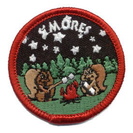 S-0266 S'mores- Squirrels Patch