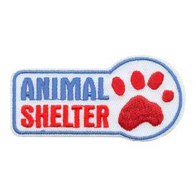 S-3629 Animal Shelter Patch