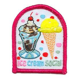 S-3630 Ice Cream Social Patch