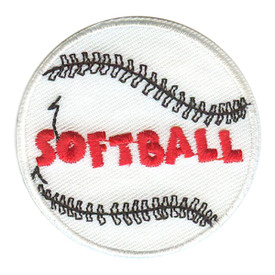 S-0267 Softball Patch