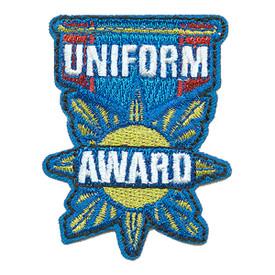 S-3651 Uniform Award Patch